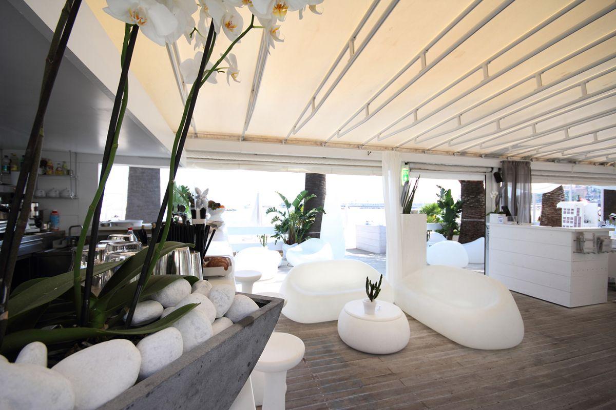 Arredamento per stabilimenti balneari for Arredamento outdoor design